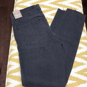 Madewell high rise skinny black jeans. NWT, 26